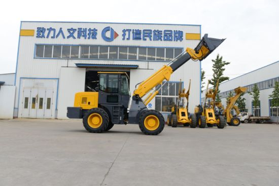 Eougem 2 Ton T2000 High Quality Telescopic Boom Loader Made in China pictures & photos