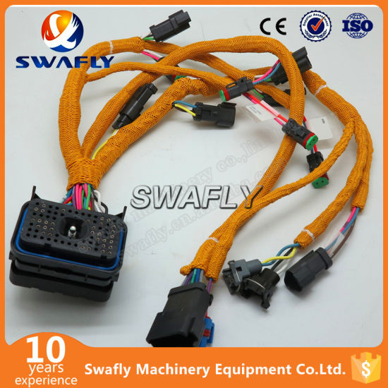 china excavator spare parts 320d e320d engine wire harness 195 7336 rh swaflyexcavator en made in china com