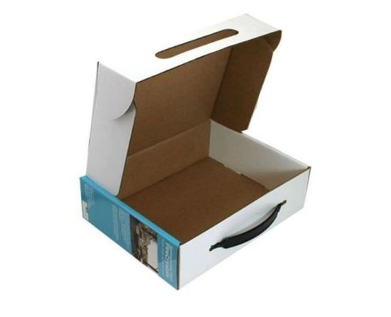Cardboard Material Big Packing Box Paper Towel Box with Custom Design pictures & photos