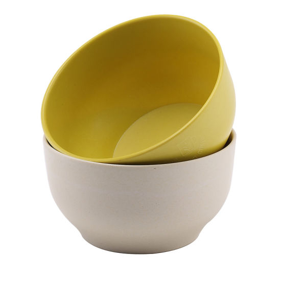 SGS Approved Eco Bamboo Fiber Kitchenwareware Bowl (YK-B3001) pictures & photos