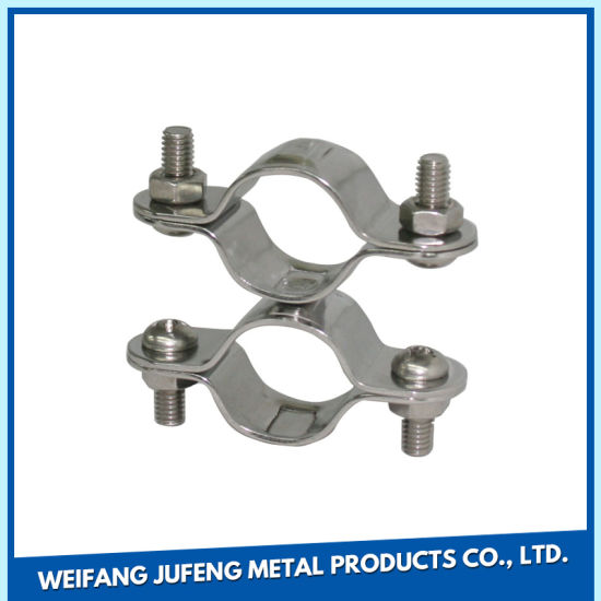 OEM Stamping Custom Sheet Metal Fabrication Pipe Clamp