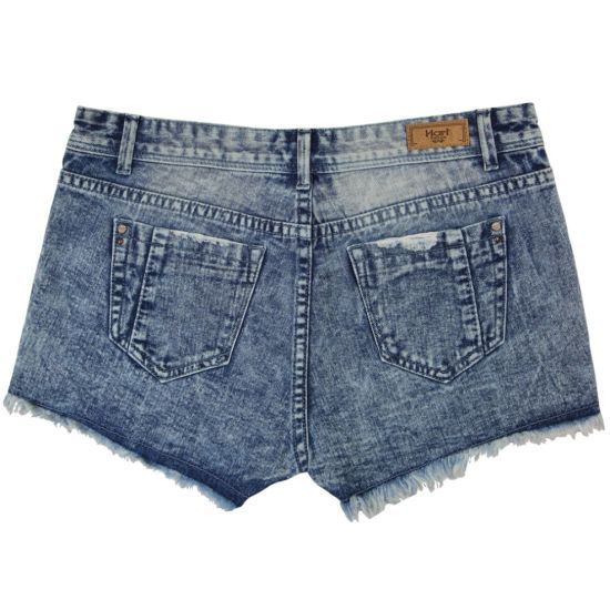 Ladeis Popular & Good Washing Wholesale Short Jeans (MY-035) pictures & photos