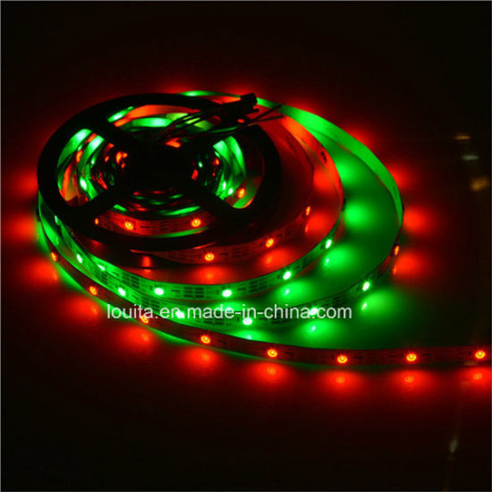 Waterproof Dream Color LED Flexible Strip with 2812 IC Built-in pictures & photos