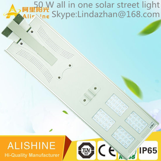 Solar Street Light with Camera, Solar Panel and Lithium Battery pictures & photos