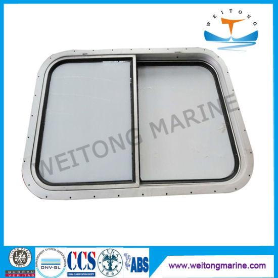 Ship Boat Marine Aluminum Sliding Windows with CCS Certificate