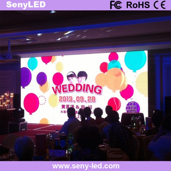 Stage Performance LED Rental Video Screen
