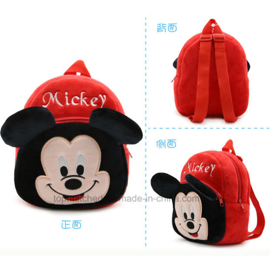 Children′s Gifts Kindergarten Boy Backpack Plush Baby Children School Bags for Girls Teenagers Kid Plush Toy Bag Mochila pictures & photos