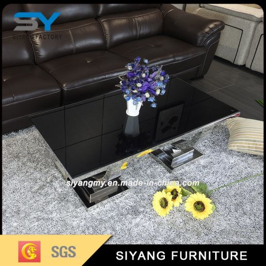 Home Furniture Black MDF Tea Table for Sale pictures & photos