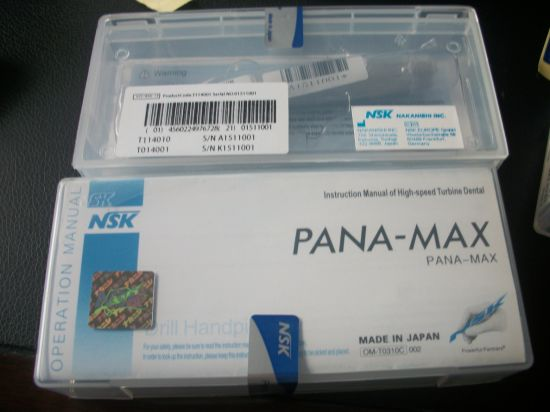 Best Price Hot Sale NSK Pana Max Dental Handpiece with LED Light with Quick Connetor pictures & photos