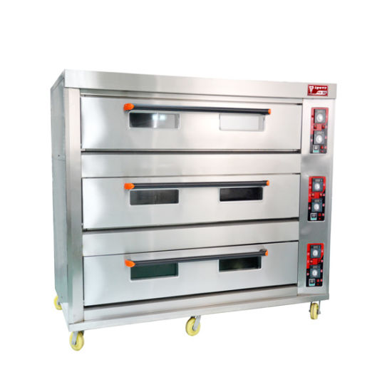 China 3 Deck 12 Trays Commercial Electric Oven Industrial Oven ...