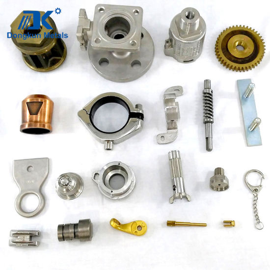 Customized Steel Brass and Brone Investment Casting Parts by Draws