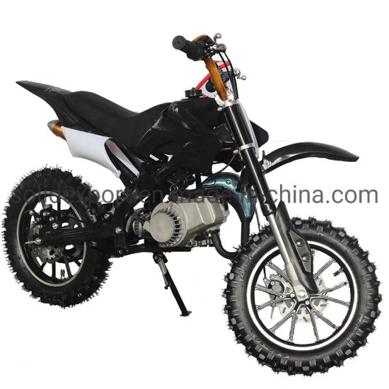 Wholesale Electric Start 49cc Dirt Bike for Kids Sports with Gasoline Lights