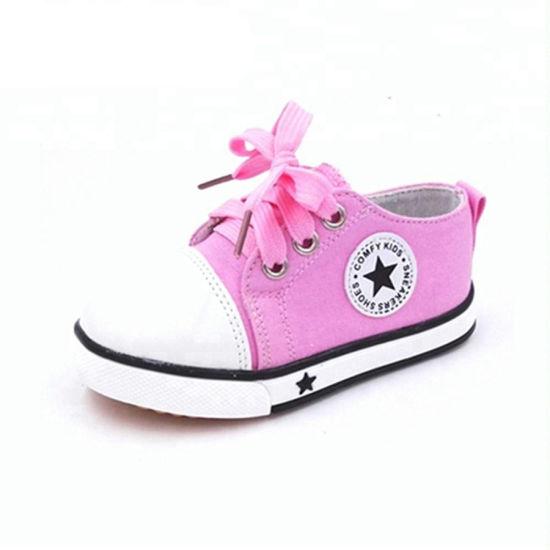 Wholesale Happy Children Canvas Sports Baby Shoes