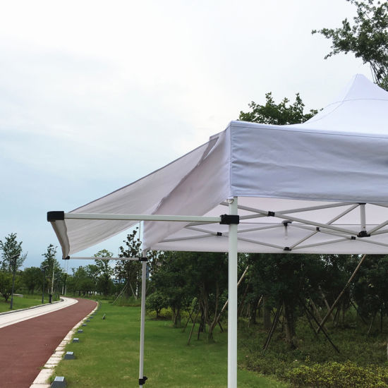 China 3x3m New Style Pop Up Canopy Tent With Awning Flap China