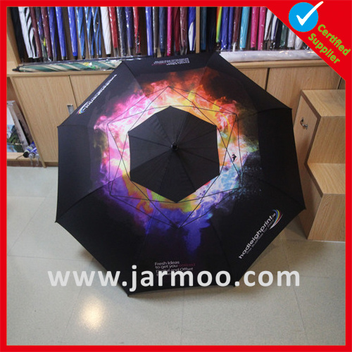Custom Black Color Promotional Gift Umbrella pictures & photos