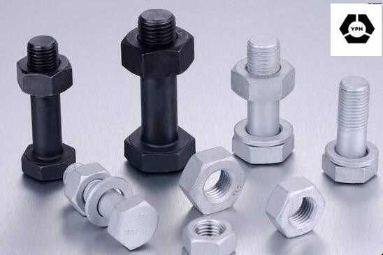 DIN 6914 High-Strength Hex Head Bolts with Black pictures & photos