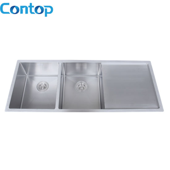 Stainless Steel Under Mount Double Bowl