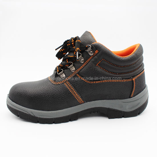 Genuine Leather Men Women Safety Footwear Working Shoe Safety Shoes with Good Quality