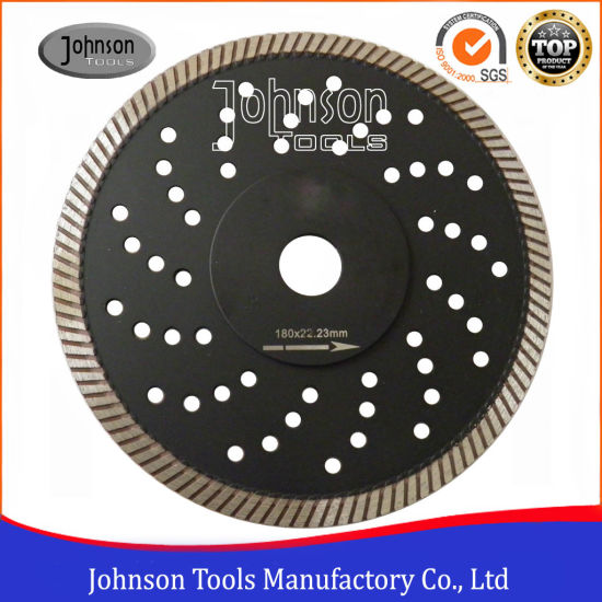 180mm Sintered Turbo Saw Blade for Granite Cutting