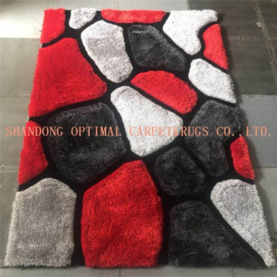 China Stone Design Handmade Tufted 3D