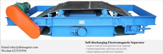 Cross Belt Magnetic Belt Separator for Removing Iron Equirpment