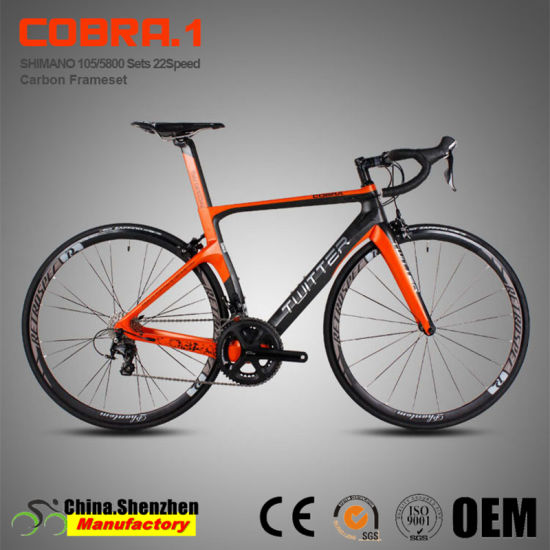 High-End 105 22speed Full Carbon Fiber Racing Bicycle pictures & photos
