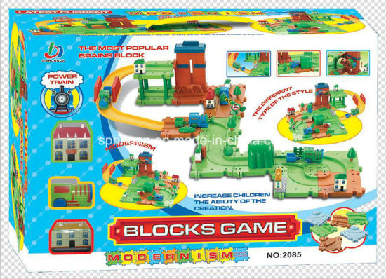 Trains Set Blocks Toy with Best Material pictures & photos