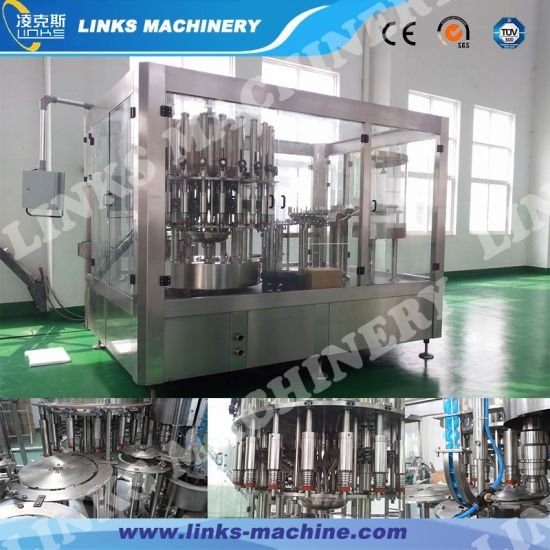 Full Automatic 3-in-1 Juice Beverage Filling Line pictures & photos