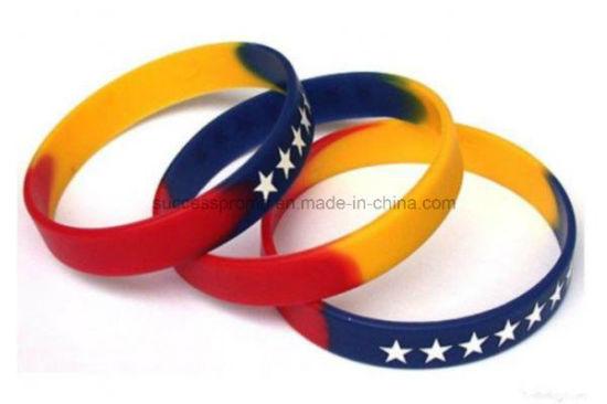 Holiday Custom Silicone Bracelet Wristband for Kids