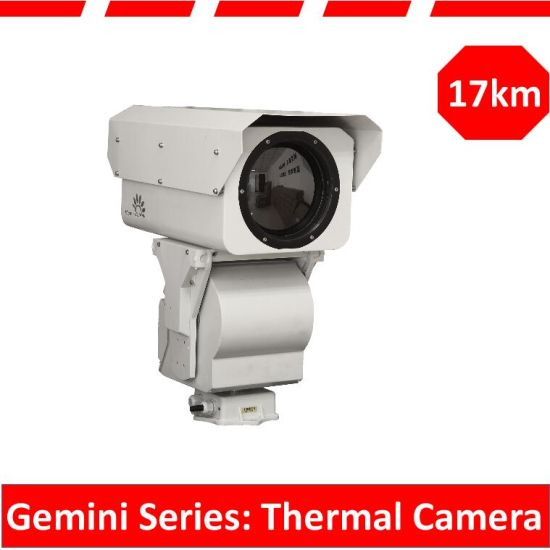 Long Range Security Surveillance PTZ Waterproof IR Infrared Thermal Sensor Camera