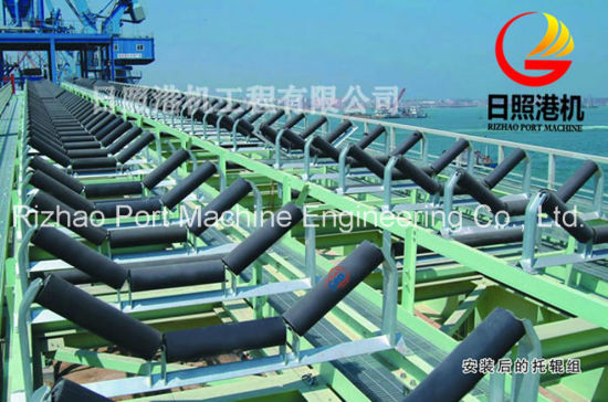 SPD General Lay-out of Long-Distance Curved Belt Conveyor System pictures & photos
