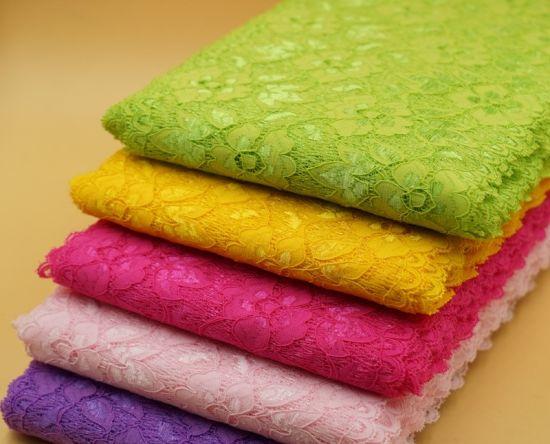 Wholesale Fashion Elastic Flower Lace for Garment Accessories