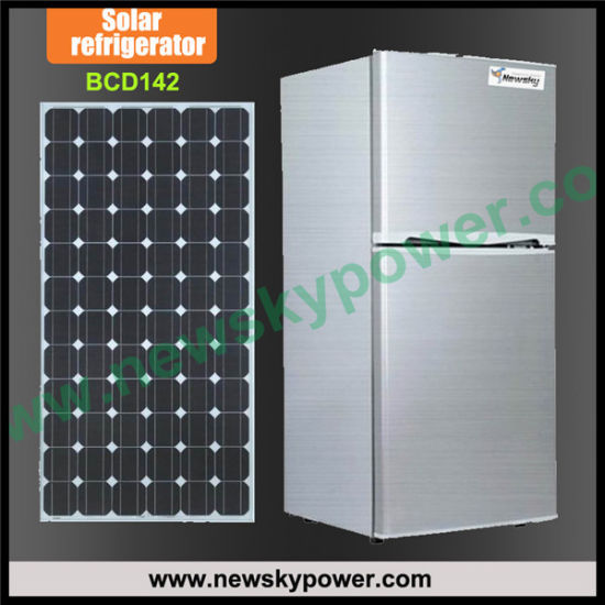 New Design DC12V 24V China Manufacturer Solar Refrigerator Freezer pictures & photos