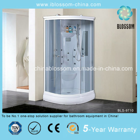Comfortable Massage Shower Room Steam Shower Cabin with CE (BLS-9710)