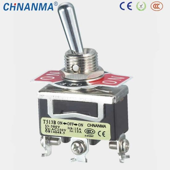 China 15A/250VAC with Protecting Cap Waterproof Toggle Switch