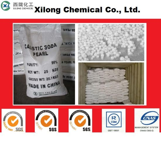 99% Caustic Soda Pearls (pellet, bead, granule) pictures & photos