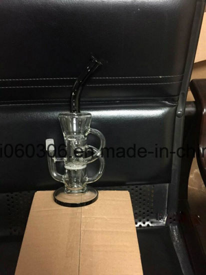 Green Pyrex Thick Glass Water Pipe with/ Dome Perc 8′′ pictures & photos