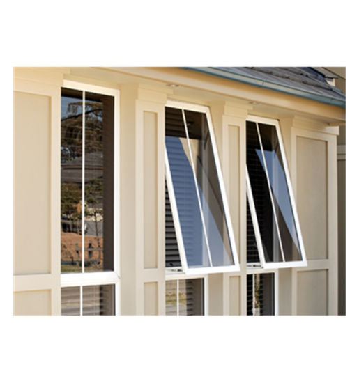 Double Tempered Glass Thermal Break Aluminum Casement Window Price