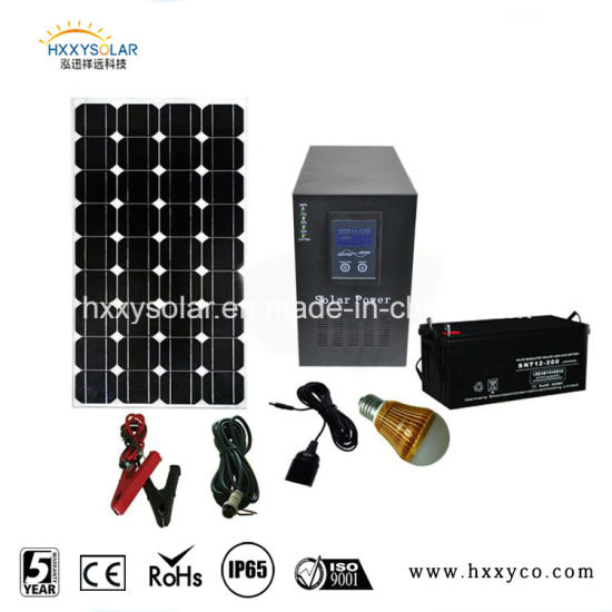 Hot Sale Cheap Price For 12V LED Lights Lighting Off Grid Sun Energy Power  Home Solar Kit