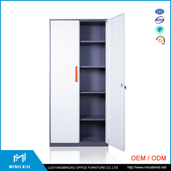 China Luoyang Mingxiu 2 Door Metal Locker Style Storage Cabinet