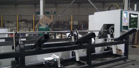 Fully automatic 3000W CNC Pipe tube Fiber Laser Cutting Machines OR-TN6016B