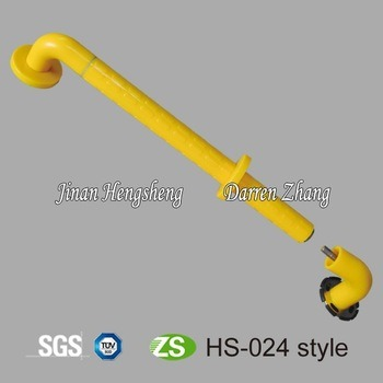 High Quality PVC Angle Handicap Toilet Grab Bars pictures & photos