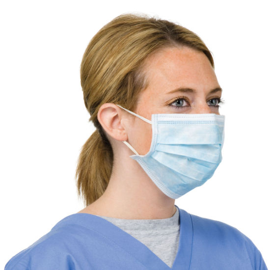High Quality Disposable Blue Face Mask