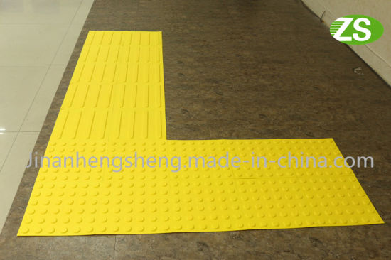 Rubber Blind Paving Bricks Tactile Tile for Blind Person pictures & photos