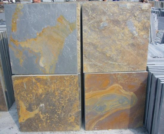 Natural Rusty Slate for Floor Tile pictures & photos