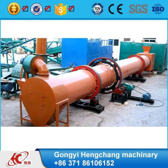 High Efficiency Wood Chips Rotary Dryer Rotary Drum Dryer Price pictures & photos