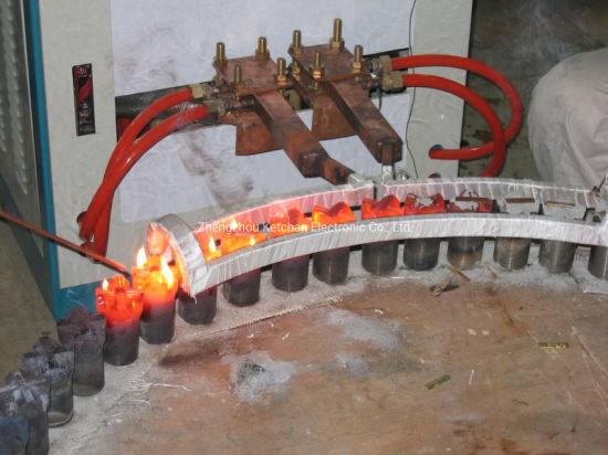 Coal Mining Drill Bit Brazing Welding by IGBT Induction Heating Soldering Machine