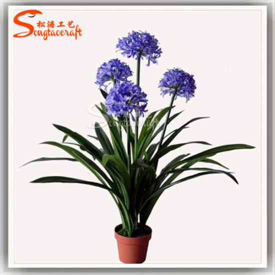 Hot Sale Decorative Artificial Flower Plants Narcissus Bonsai