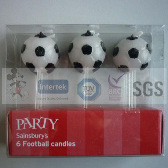 Kids Favorite Art Football Birthday Candles