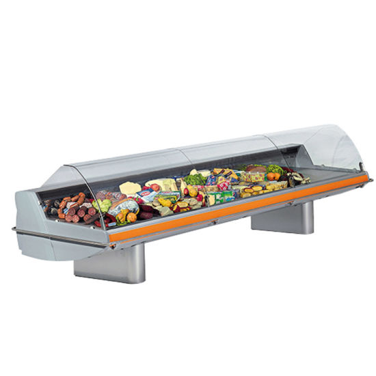 New Products Refrigerated Display Case Commercial Display Meat Freezers